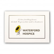 Waterford Hospice Wedding Favour Cards