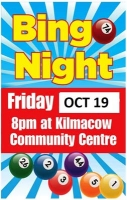 Kilmacow Camogie Club & Kilmacow Hospice Support Group 'Bingo for Hospice'